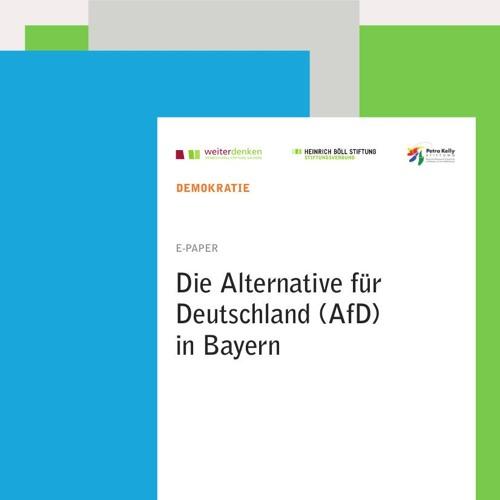 """Ein Gespräch mit dem Autor von """"Die Alternative für Deutschland (AfD) in Bayern"""""""