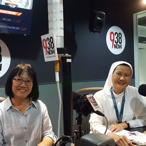 Sr Geraldine and Frances Yap on 23 May 938NOW Night Chat