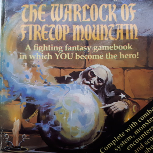 Talkthrough #1 - The Warlock of Firetop Mountain