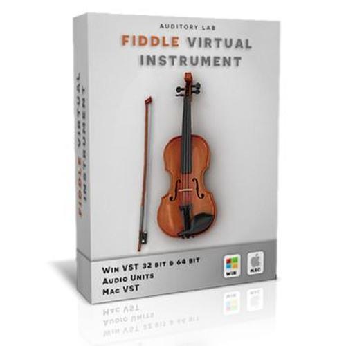 Auditory Lab - Fiddle Virtual Instrument Plugin (Pc/Mac VST, AU) by
