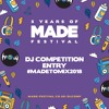 MADE Festival 2018 Dj Comp : SIKRICK