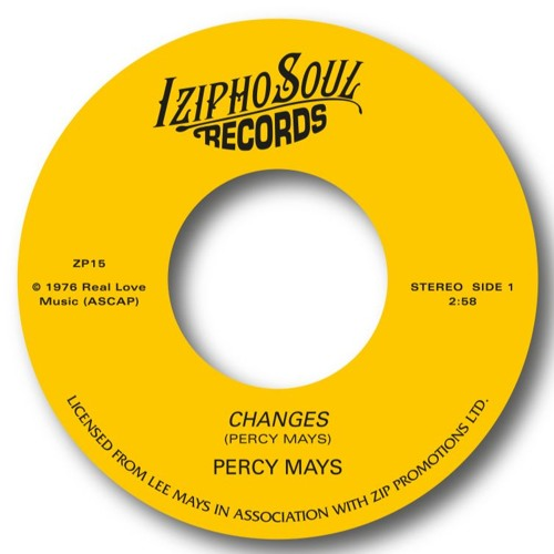 PERCY MAYS - CHANGES