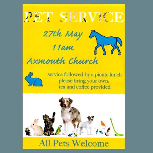 Pets' Service 27 May 2018