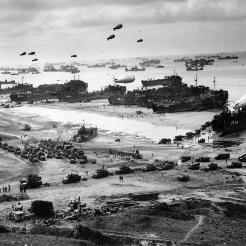 Larry Meier of Mutual Radio: First Eyewitness Account of D-Day From the Air