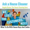 House Keys, House Cleaners and Security Systems