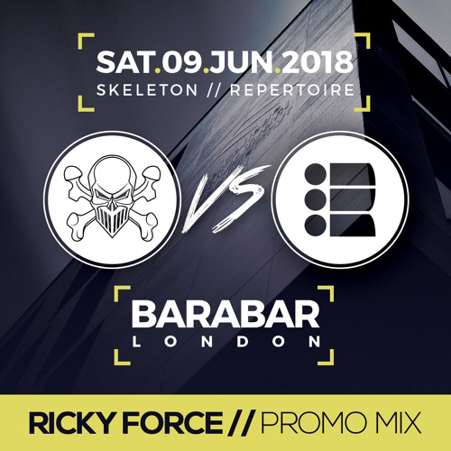 RICKY FORCE - Skeleton vs Repertoire 2 Promo Mix