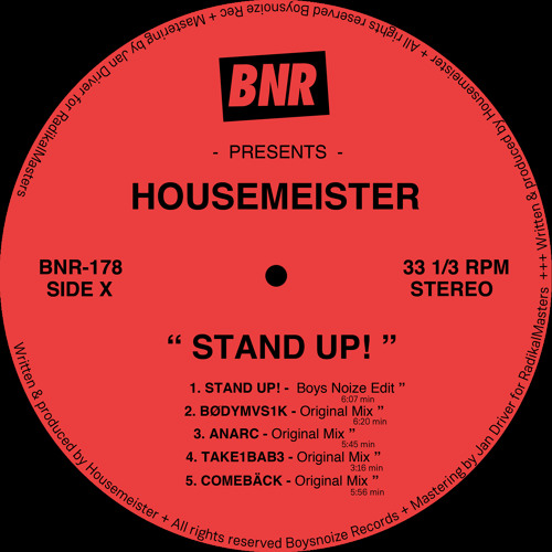 #cupremiere | Housemeister - Anark [BoysNoize Records]