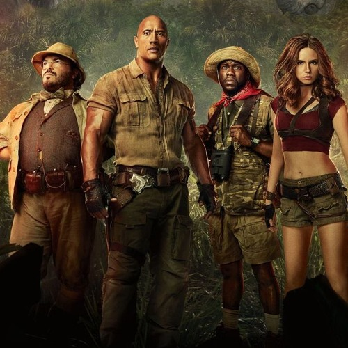 The Spin-off Doctors: Jumanji - Welcome To The Jungle
