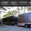 trailer camper mobile home batting cage and paramont movie set celebrity