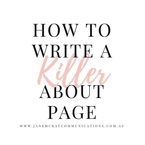 011 How to Write a Killer About Page