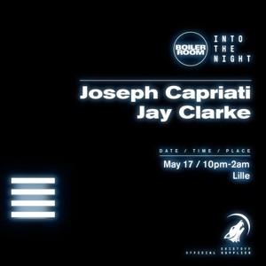 Jay Clarke @ Boiler Room Into The Dark Lille 2018-05-17 Artwork
