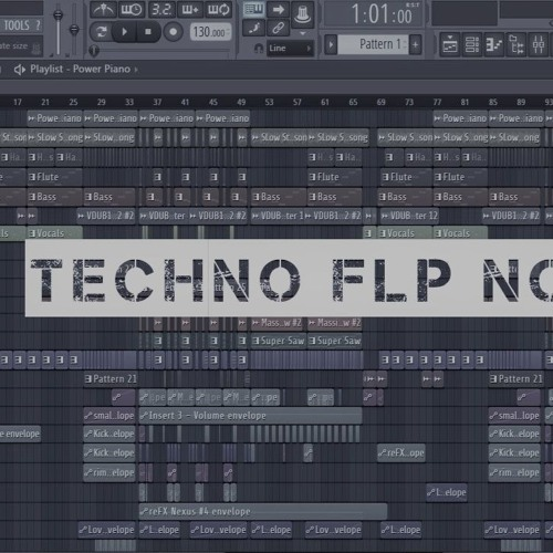 FREE Techno 2018 Full FLstudio Project (FLP) no/2 by EDM