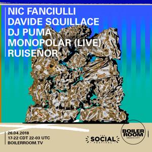 Nic Fanciulli @ Boiler Room, The Social Festival 2018-04-26 Artwork
