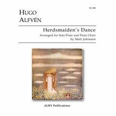 Hugo Alfven - Herdsmaiden's Dance for Flute Choir