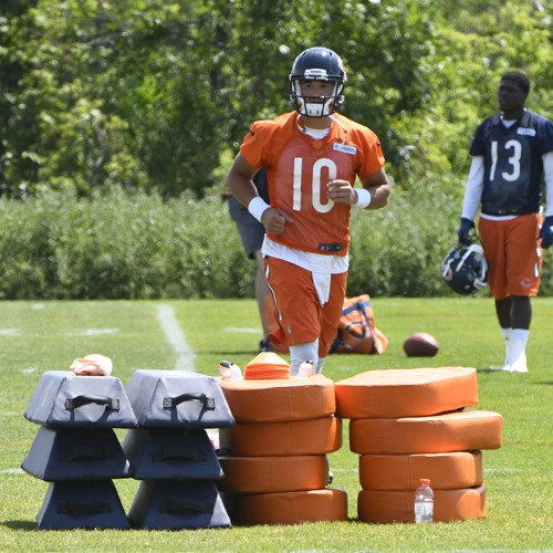 Bears OTAs and the development of Mitch Trubisky