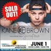 Christal Blue talks with Kane Brown