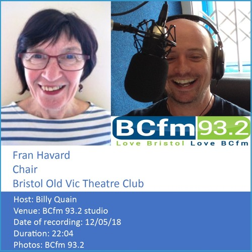 In Conversation: Fran Havard - Chair Bristol Old Vic Theatre Club