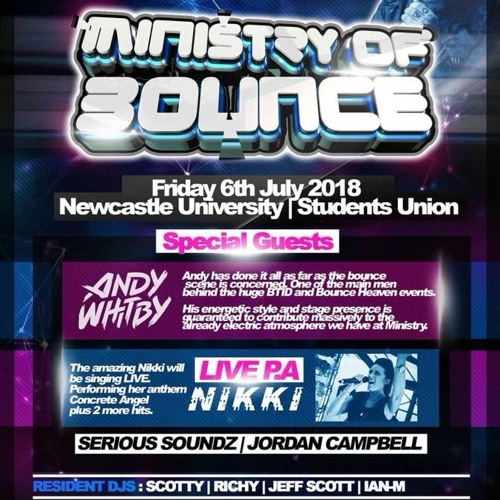 Ministry Of Bounce Summer Special Promo - Serious Soundz