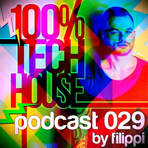 100% Tech House Podcast 029 By Filippi