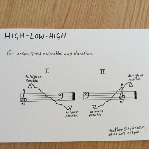 High - Low - High