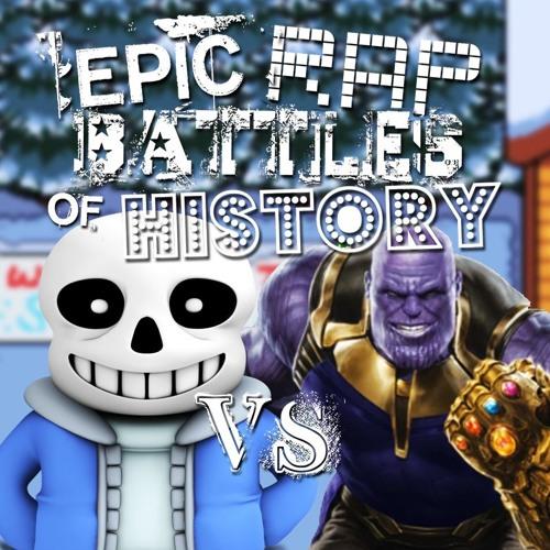 thanos vs sans epic rap batle 6 by epic rap batles free