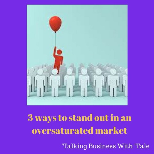 Episode 16 - Talking Business With 'Tale - 3 Ways To Stand Out In An Oversaturated Market