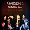 Maroon5 - Girls Like You feat. Cardi B( Ilvela Remix )