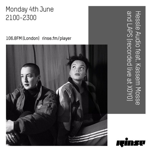 Hessle Audio feat. Kassem Mosse and LAPS (recorded live at XOYO) - 4th June 2018