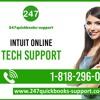 QuickBooks Intuit Online Tech Support: 1-818-296-0721