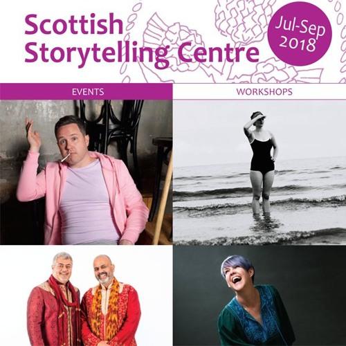 Scottish Storytelling Centre Audio Listings July-September 2018