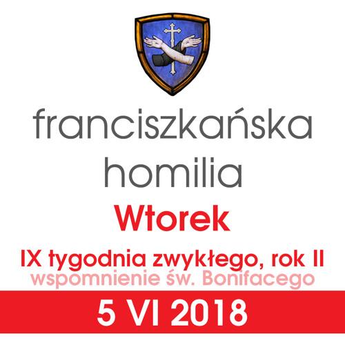 Homilia: wtorek IX tygodnia - 5 VI 2018