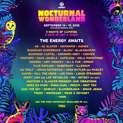 Nocturnal Wonderland 2018