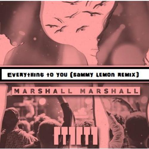 Marshall Marshall -Everything To You (Sammy Lemon Remix)