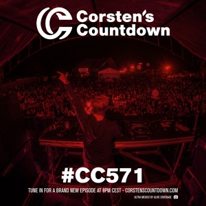 Ferry Corsten - Corsten's Countdown 571 2018-06-06 Artwork