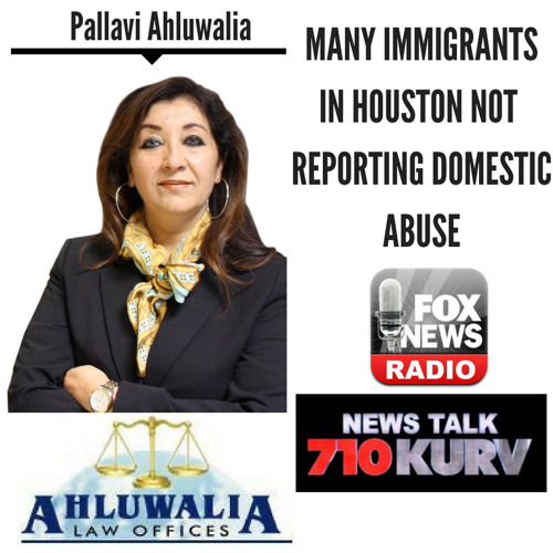 Many Immigrants in Houston Not Reporting Domestic Abuse || Pallavi Ahluwalia discusses LIVE (6/6/18)