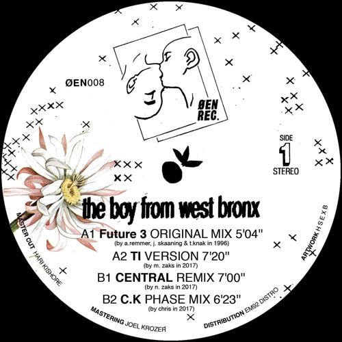 Premiere: Future 3 – The Boy from West Bronx (C.K Phase Mix) [ØEN REC.]
