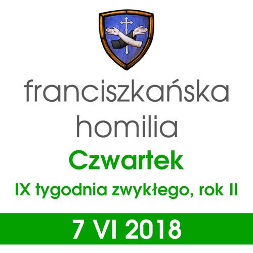 Homilia: czwartek IX tygodnia - 7 VI 2018