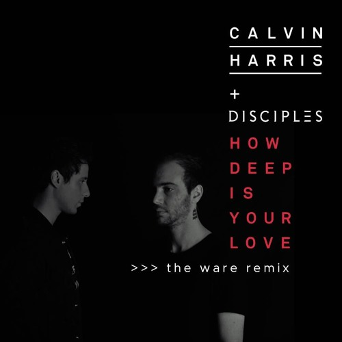 Calvin Harris & Disciples - How Deep Is Your Love (The Ware Remix)