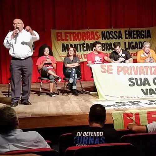Eletricitários convidam movimentos a apoiar greve contra privatização da Eletrobras