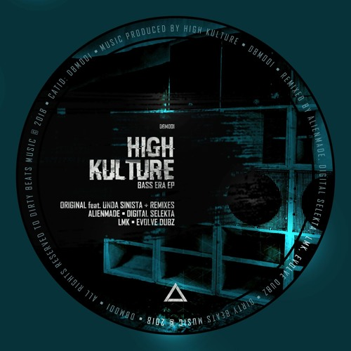 "High Kulture feat. Unda Sinista - ""Bass Era EP"" (DBM001) [OUT NOW]"