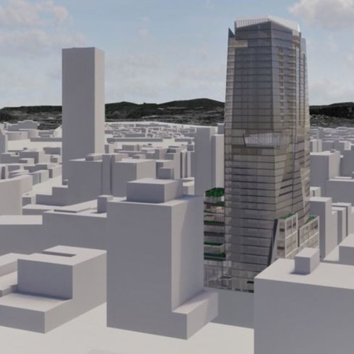 Oregon Tower Would Include Five - Star Hotel