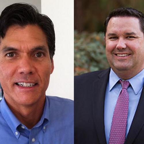 Davis Mayor Pro Tem Brett Lee and City Manager Mike Webb Kiwanis Club of Davis June 7, 2018