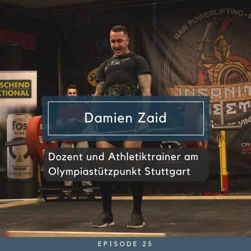 Damien Zaid - Dozent und Athletiktrainer am Olympiastützpunkt Stuttgart