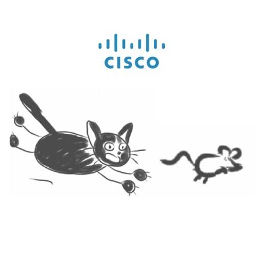 Cisco Sverige IT-säkerhetspodden med Itchy & Scratchy S1E1