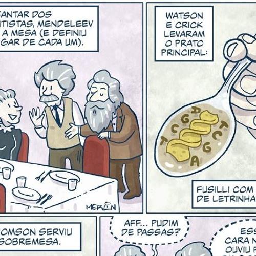 Ondas da Ciência 175 - Ciência Em Quadrinhos