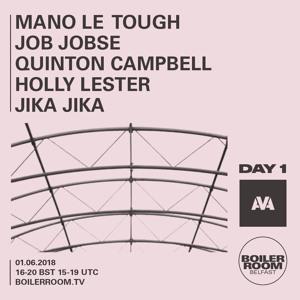 Mano Le Tough @ Boiler Room x AVA Festival, Belfast 2018-06-01 Artwork