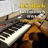 Bach - Invention 8 in F major, BWV 779, harpsichord (synth) cover