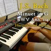 J.S. Bach - Minuet in G, BWV Anh. 114, harpsichord (synth) cover
