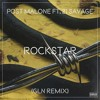 Post Malone - Rockstar Ft. 21 Savage (GLN Remix) Portada del disco