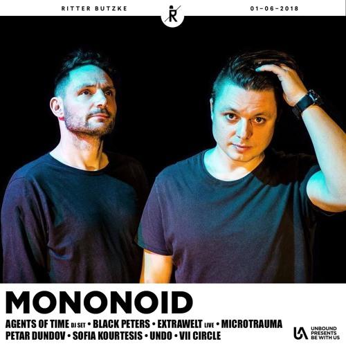 Mononoid @ Unbound Artists Showcase, Ritter Butzke, 01/06/18